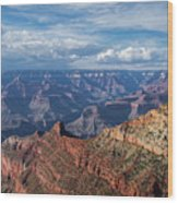 Grand Canyon View 1 Wood Print