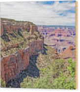 Grand Canyon, View From South Rim Wood Print
