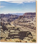 Grand Canyon West Rim Wood Print