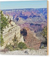 Grand Canyon21 Wood Print