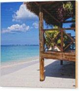 Grand Cayman Relaxing Wood Print