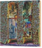 Grand Central Bakery Mosaic Wood Print