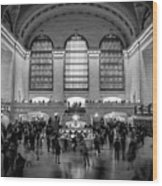 Grand Central Station  Wood Print