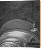 Grand Central Terminal - Arched Corridor Wood Print