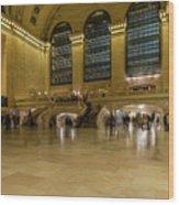 Grand Central Terminal Main Floor Wood Print