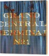 Grand Central Terminal No 1 Wood Print