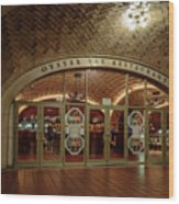 Grand Central Terminal Oyster Bar Wood Print