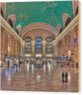 Grand Central Terminal V Wood Print