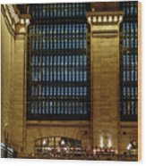 Grand Central Terminal Window Details Wood Print