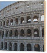 Grand Colosseum Wood Print