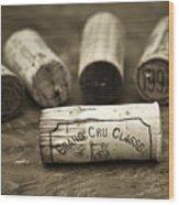 Grand Cru Classe Wood Print