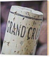 Grand Cru Wood Print