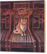 Grand Dame Wood Print