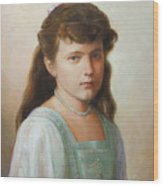 Grand Duchess Anastasia Nikolaevna Of Russia Wood Print
