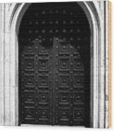 Grand Entrance Wood Print