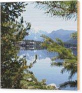 Grand Lake Co Mt Baldy Spring II Wood Print