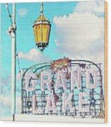 Grand Lake Merritt - Oakland, California Wood Print