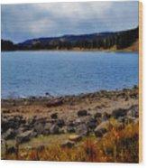 Grand Mesa Lake Wood Print