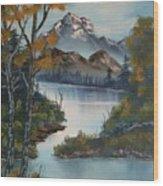 Grand Mountain Wood Print