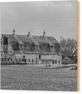 Grand Old Barn Wood Print