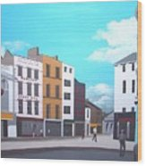 Grand Parade, Cork Wood Print