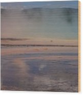Grand Prismatic In Yellowstone Park Wood Print