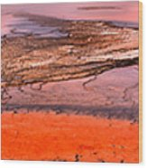 Grand Prismatic Panoramic Abstract Wood Print
