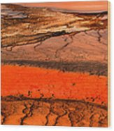 Grand Prismatic Patterns Wood Print
