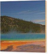 Grand Prismatic Pool II Wood Print