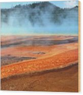 Grand Prismatic Spring, Yellowstone Wood Print