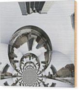 Grand Rapids-99 Wood Print