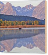 Grand Reflections Wood Print