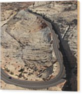 Grand Staircase, Escalante National Monument Wood Print