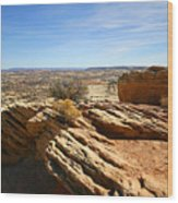 Grand Staircase Escalante National Monument Wood Print