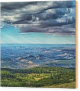 Grand Staircase - Escalante National Monument Wood Print