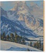 Grand Teton Wood Print