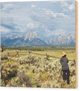 Grand Teton Photograpers Wood Print