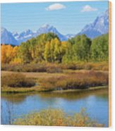 Grand Tetons 3 Wood Print