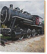 Grand Trunk Railroad - Gorham New Hampshire Usa Wood Print