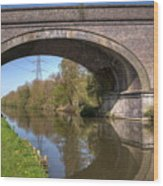 Grand Union Canal Bridge 181 Wood Print