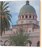 Grandeur Of Tucson Wood Print