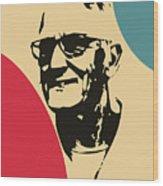 Grandfather Wood Print