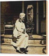 Grandma Jennie Wood Print
