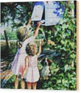 Grandmas Letter Wood Print