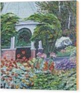 Grandmother's Garden Flowers Wood Print