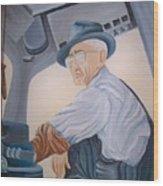 Grandpa Albee Wood Print