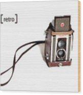 Grandpa's Camera Wood Print