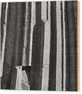 Granite Columns Wood Print