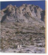 Granite Mountain Wood Print