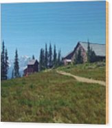 Granite Park Chalet Wood Print